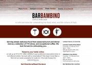 Bar Bambino Café and Wine Bar
